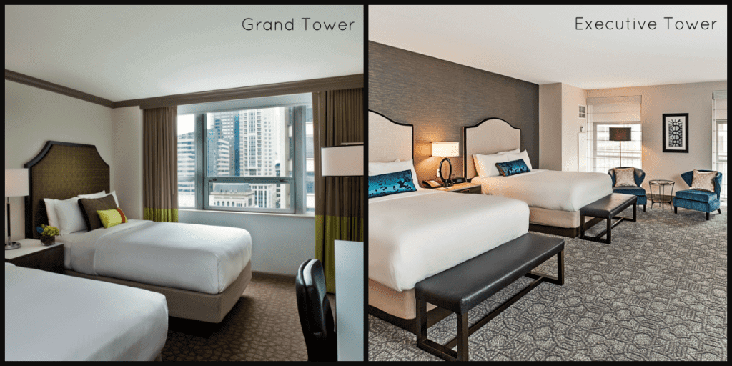 The intercontinental hotel chicago is family friendly for Rooms for kids chicago