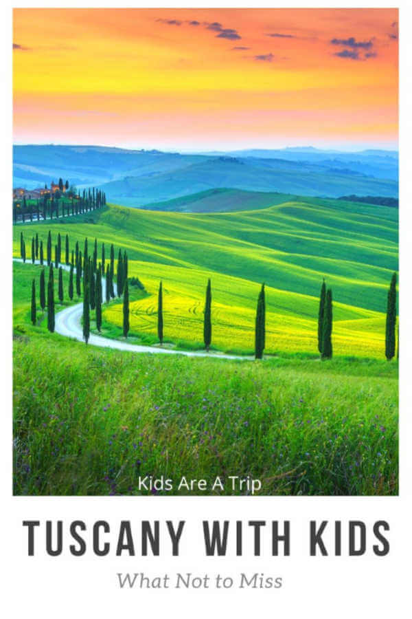 tuscany rolling hills cypress trees-Kids Are A Trip