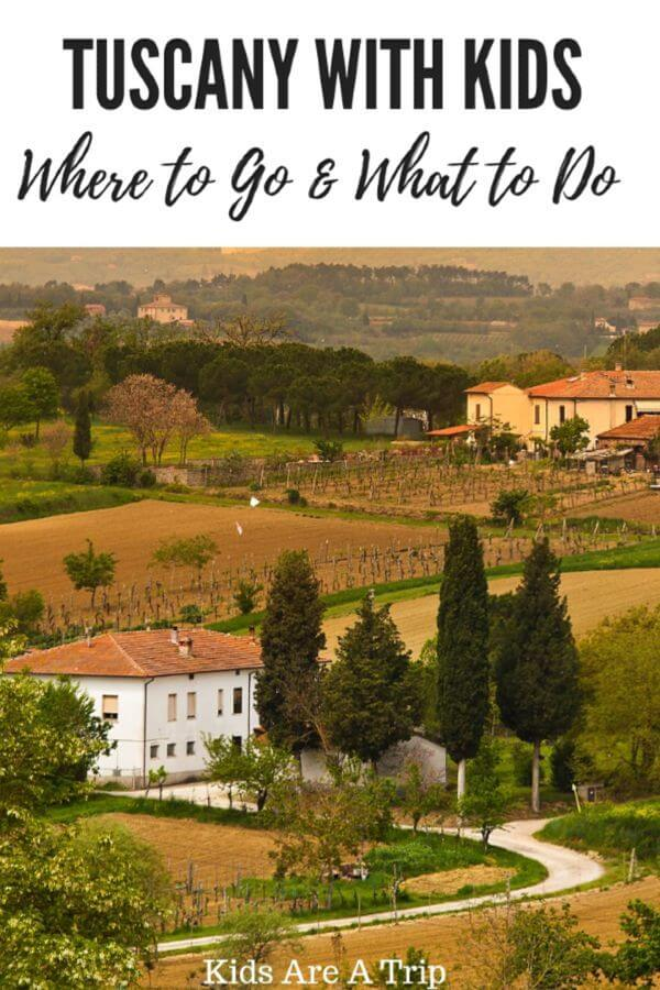 If you're visiting Tuscany with kids, don't miss the charming towns of San Gimignano and Volterra. Exploring these medieval towns and driving through the scenic countryside are the perfect way to spend a day. - Kids Are A Trip