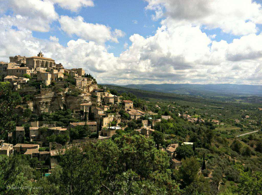 Places to Visit in Provence France Gordes-Kids Are A Trip