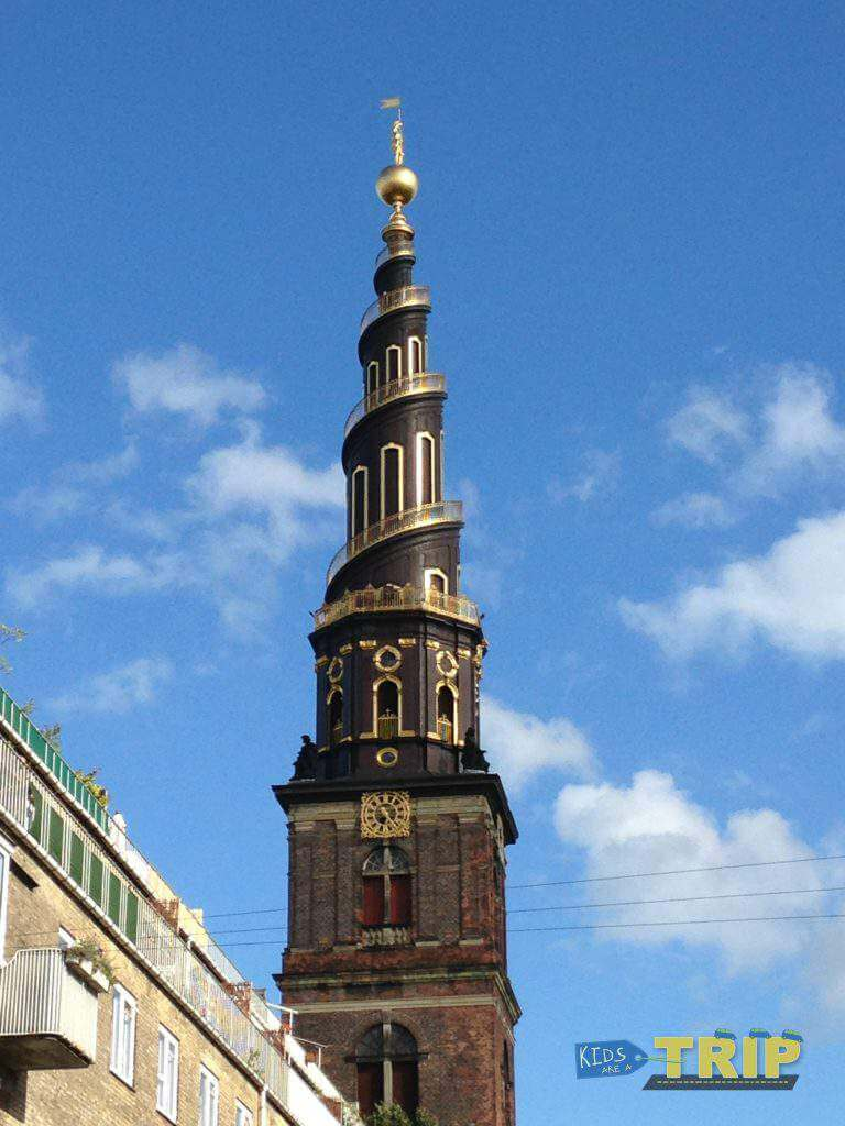 The Spire Copenhagen with kids