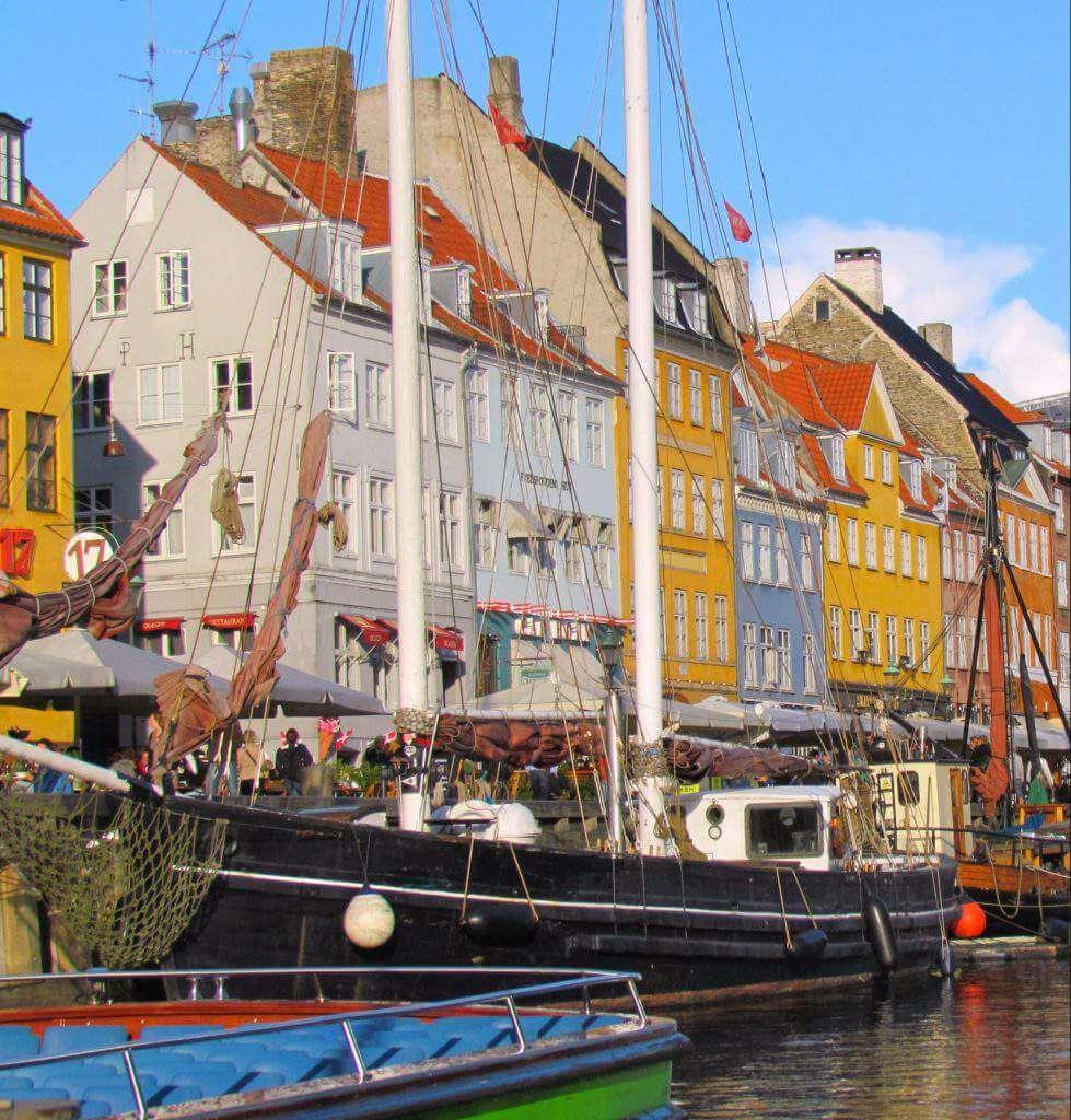 Nyhavn Copenhagen with kids