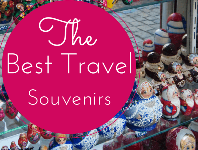 The Best Travel Souvenirs