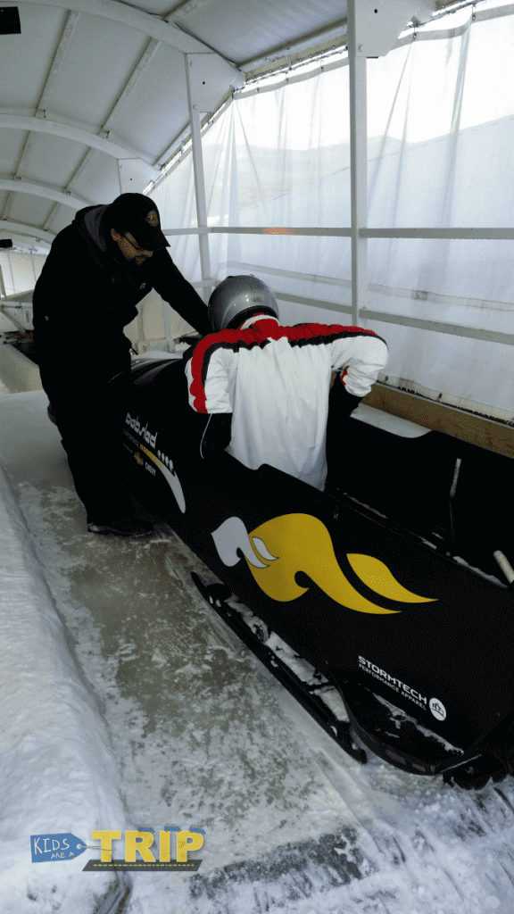 Lake Placid Bobsled-Kids Are A Trip