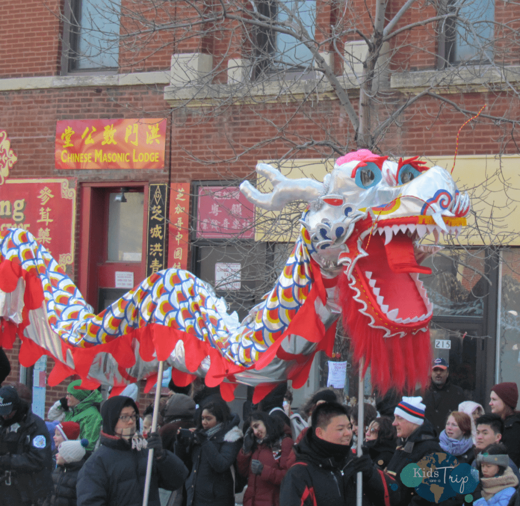 Chinese New Year Parade-Kids Are A Trip