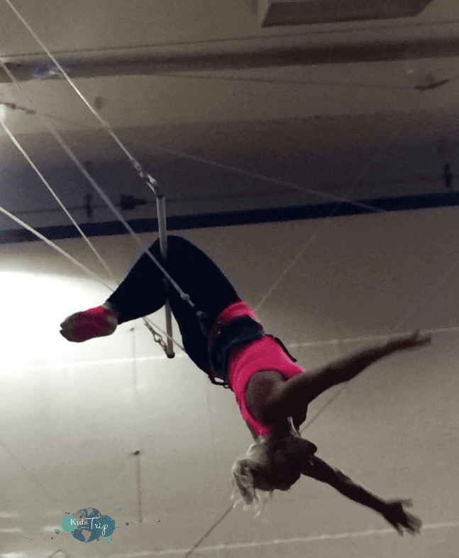 Trapeze School-Kids Are A Trip