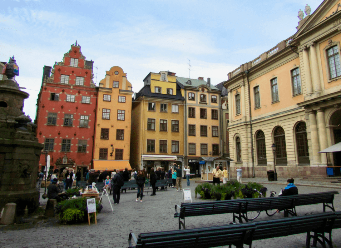 Things to Do in Stockholm with Kids Gamla Stan-Kids Are A Trip