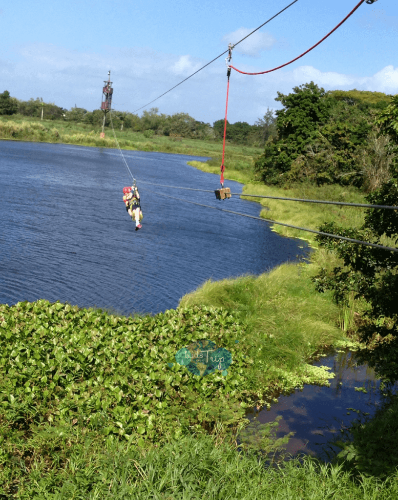 Campo Rico Zipline-Kids Are A Trip