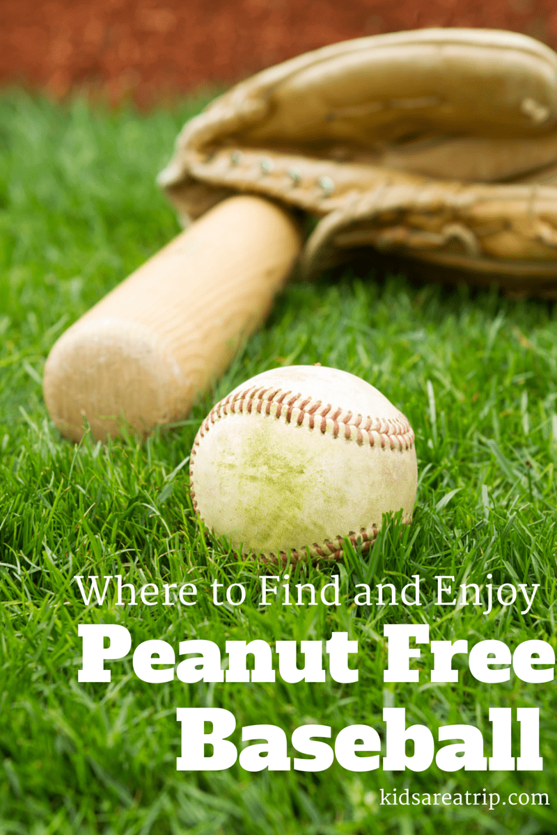 Peanut Free Baseball-Kids Are A Trip
