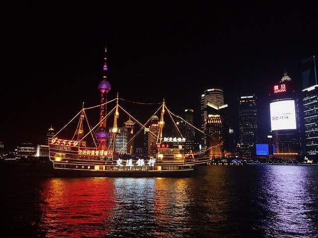 Shanghai at Night-Kids Are A Trip