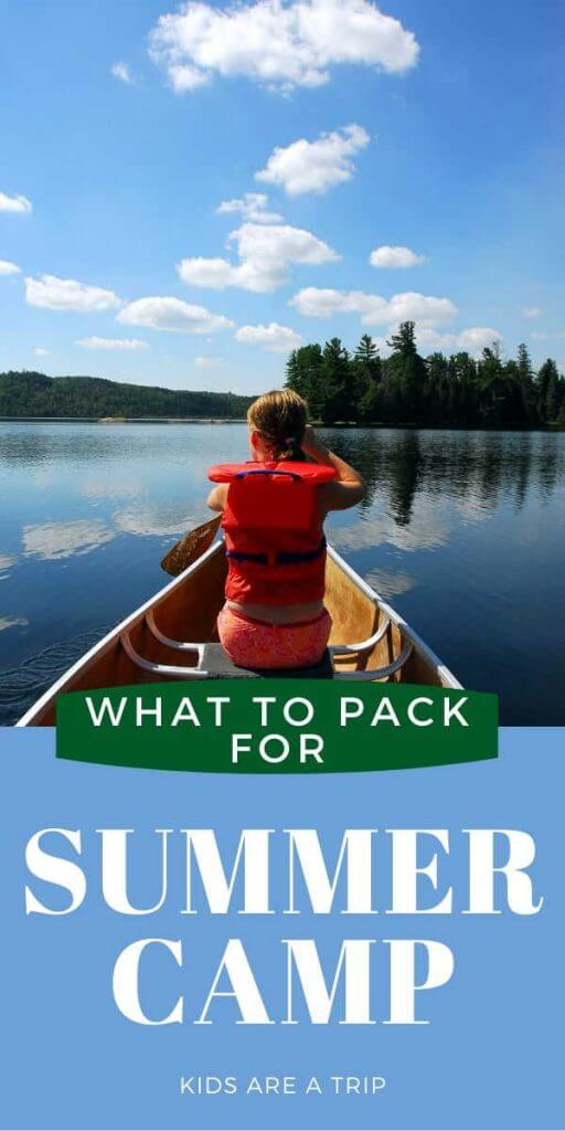 What to Pack for Summer Camp with Printable Packing List-Kids Are A Trip