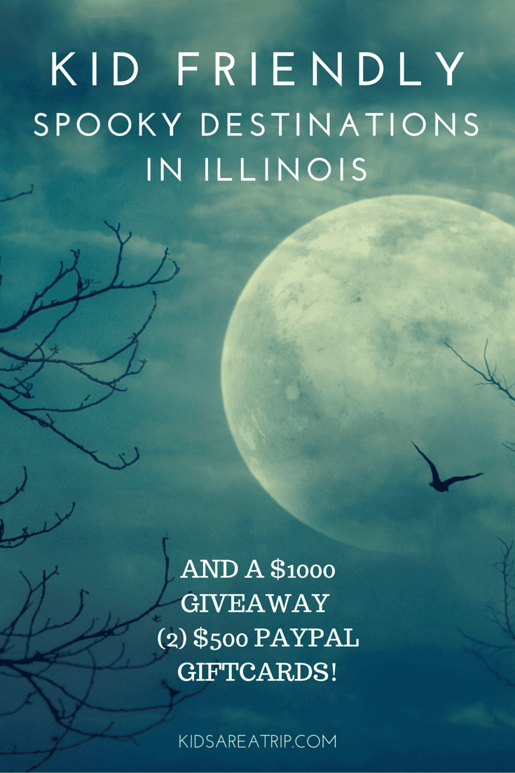 Spooky Destinations in Illinois & Giveaway-Kids Are A Trip