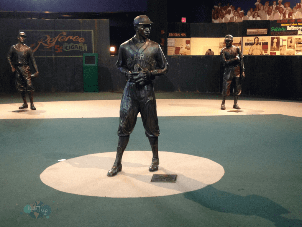 Fun Things to Do in Kansas City Negro Leagues Baseball Museum -Kids Are A Trip