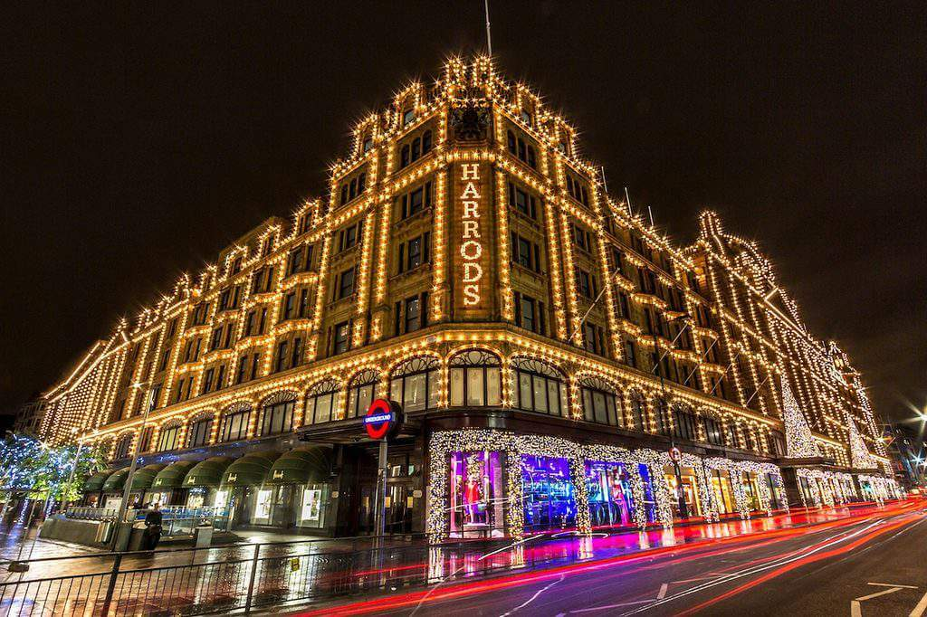 Harrod's Christmas in London-Kids Are A Trip