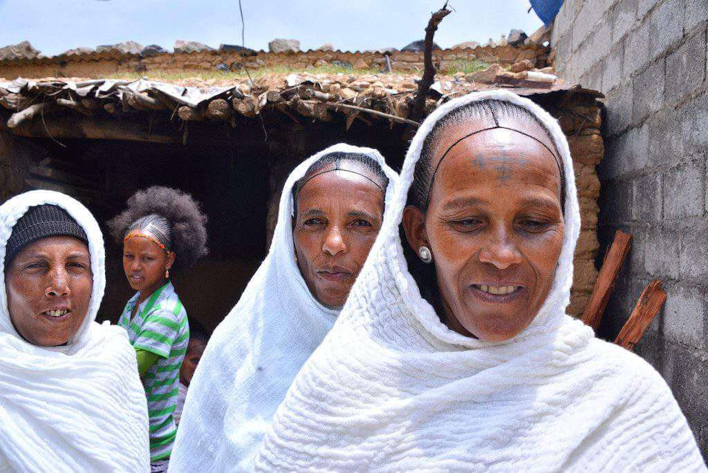 Christmas in Ethiopia Shamma-Kids Are A Trip