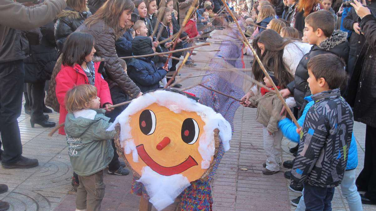 Caga Tio in Catalunya Spain for Everyone-Kids Are A Trip