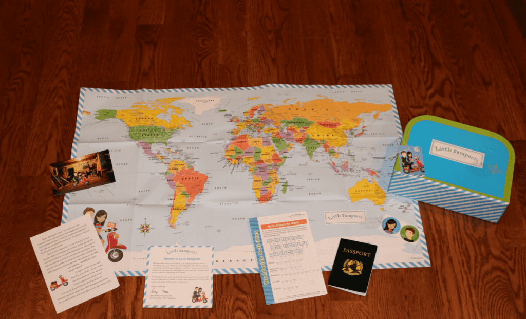 Little Passports Explorer Kit-Kids Are A Trip