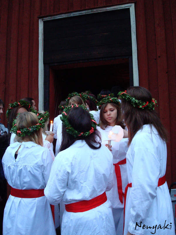 St. Lucia's Day Christmas in Sweden-Kids Are A Trip