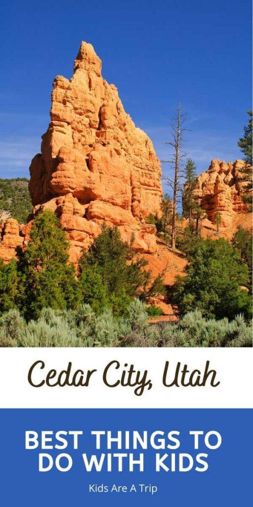 Best Things to Do in Cedar City Utah with kids