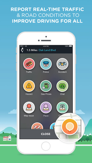 Favorite Travel Apps for 2016 Waze on the Road-Kids Are A Trip