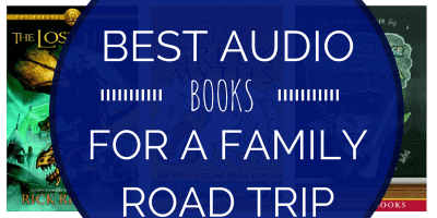 Best Audio Books for a Family Road Trip-Kids Are A Trip