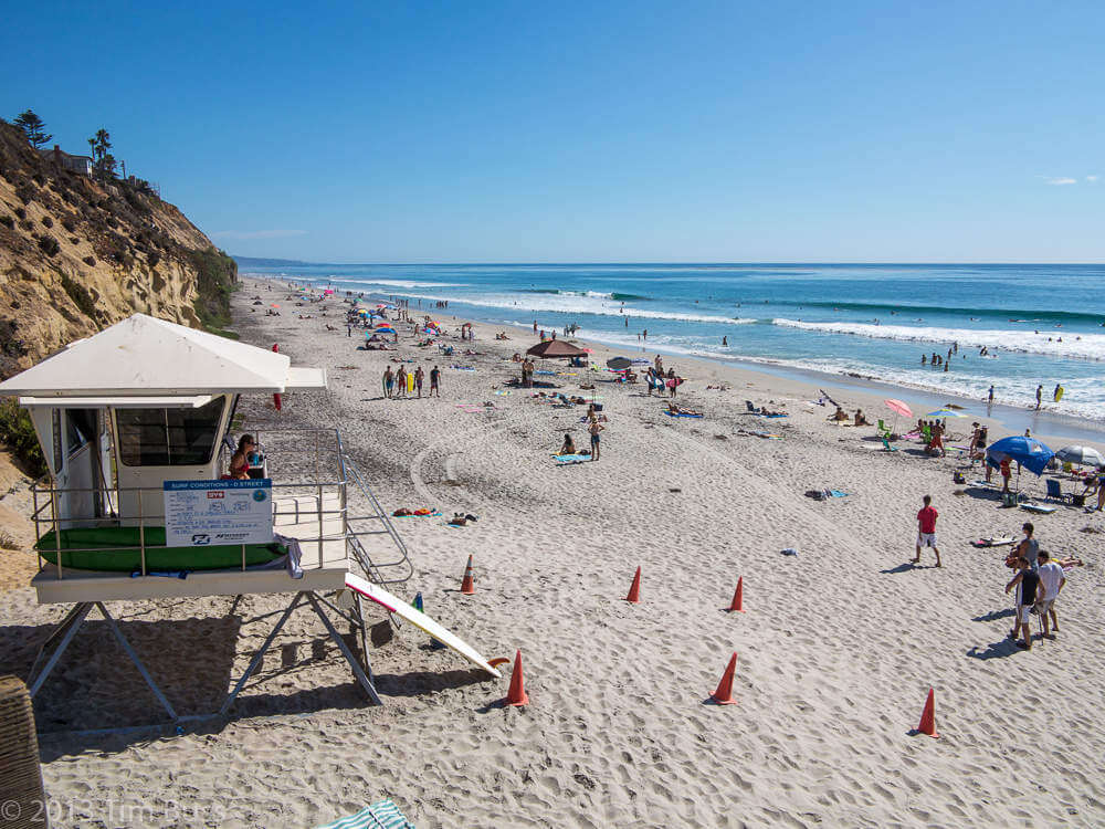 Best Family Beaches in San Diego Moonlight Beach Encinitas-Kids Are a Trip