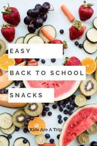 If you are looking for the perfect first day of school snacks we have you covered. Here are plenty of healthy snacks that kids will love for lunch or as an after school snack. - Kids Are A Trip