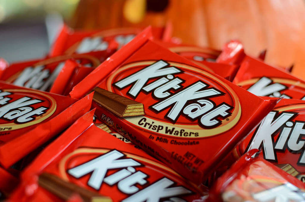 Allergy Friendly Halloween Treats Kit Kat-Kids Are A Trip