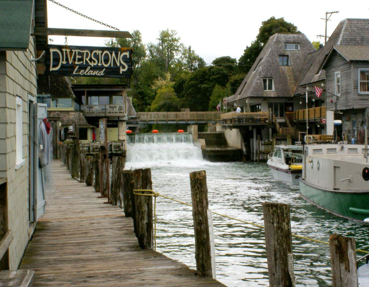Top 5 family friendly things to do in traverse city for Fish town usa