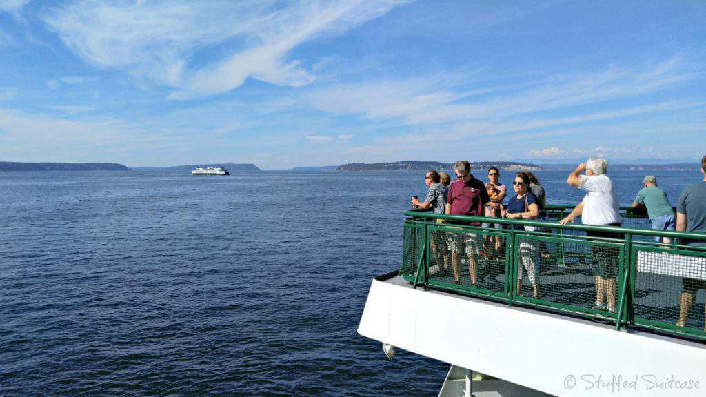 things to do in seattle-ferry to bainbridge-kids are a trip