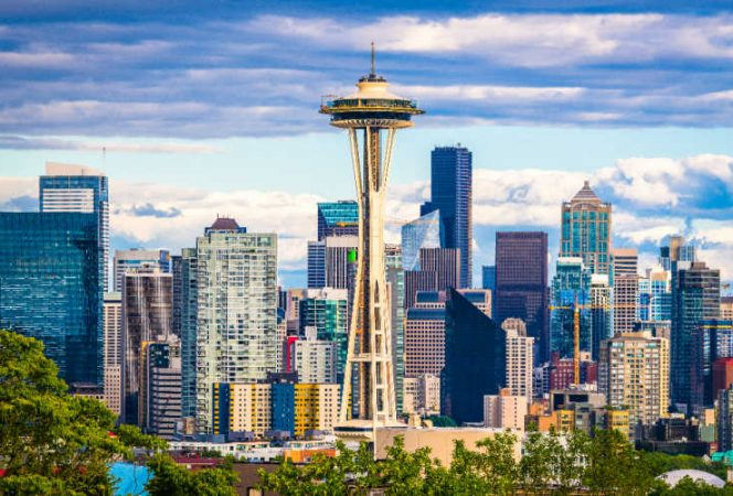 things to do in Seattle with kids Space Needle