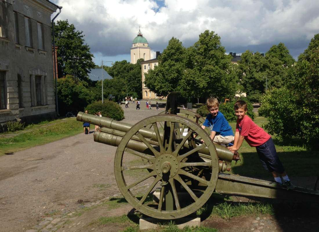 Best Travel Tips Scandinavia Baltics Helsinki Suomenlinna War Museum-Kids Are A Trip