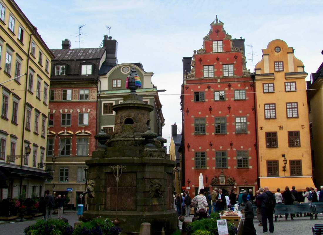 Best Travel Tips Scandinavia Baltics Stockholm Old Town-Kids Are A Trip