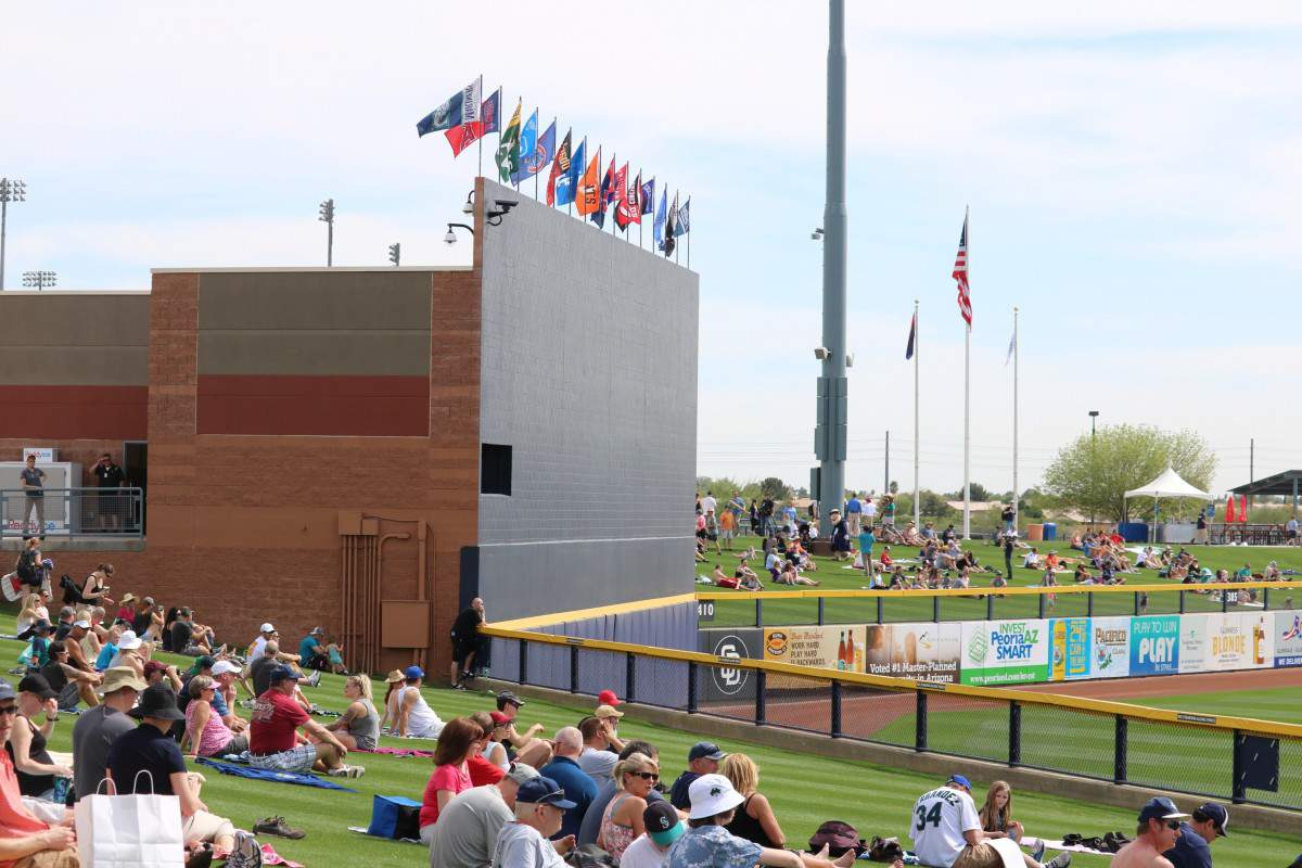 How to Enjoy Spring Training in Phoenix Unique Venues are part of the fun. - Kids Are A Trip