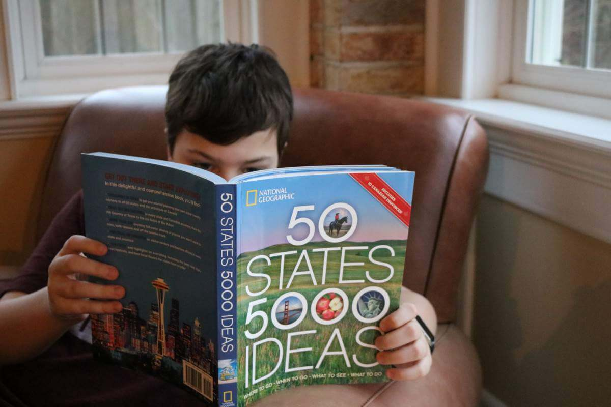 National Geographic's 50 States 5000 Ideas a wealth of inspiration. - Kids Are A Trip