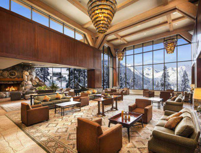 Resort at Squaw Creek: Lake Tahoe's Winter Wonderland