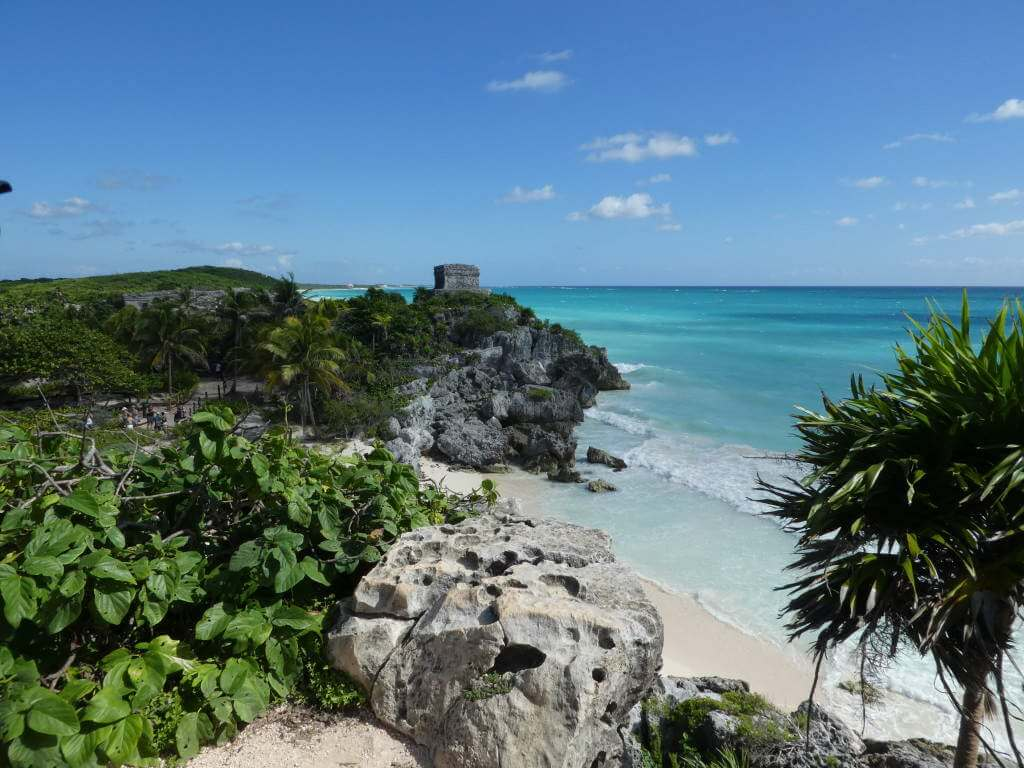 Mayan ruins Visit Tulum with kids- Kids Are A Trip