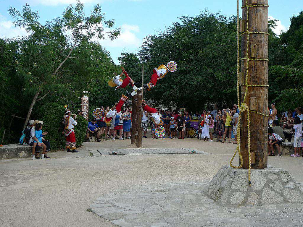 Best Things to do with Kids in Cancun Performance at Xcaret - Kids Are A Trip