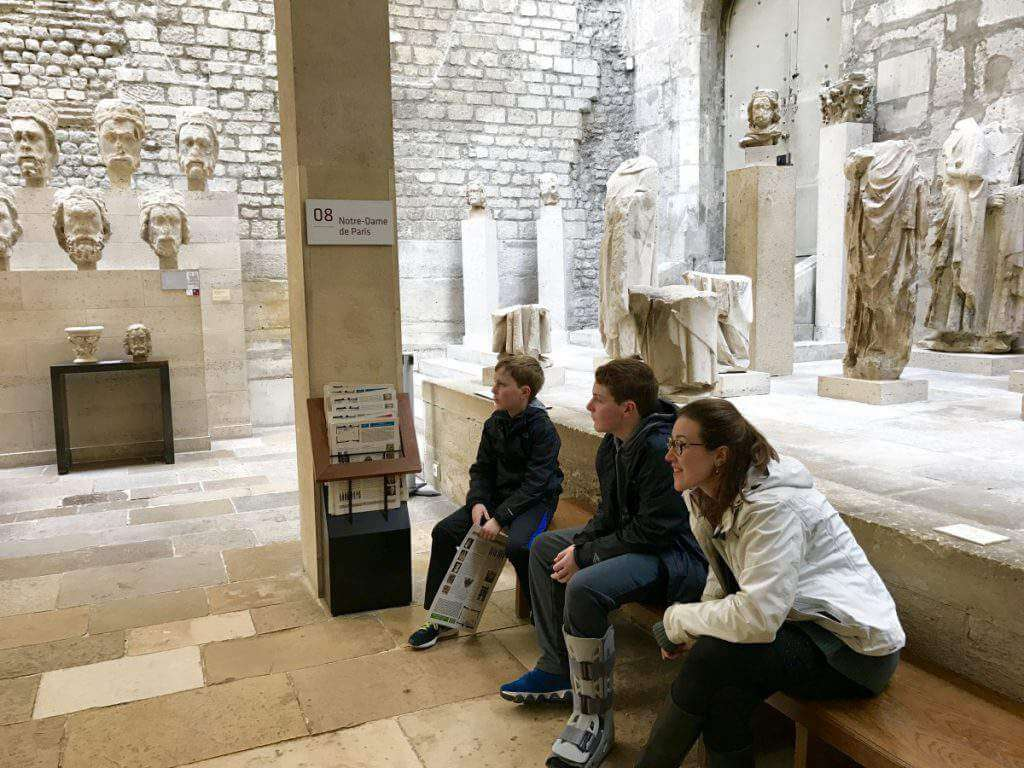 Roman Tour of Paris with Context Travel-Kids Are A Trip