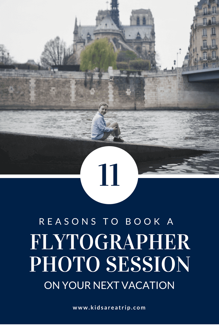 If you're looking for the ultimate vacation souvenir, you've found it. These are only some of the reasons to book a Flytographer photo shoot on your next vacation. Odds are, once you try it, you'll be hooked too! - Kids Are A Trip