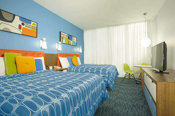 Cabana Bay Beach Resort Standard Room-Kids Are A Trip