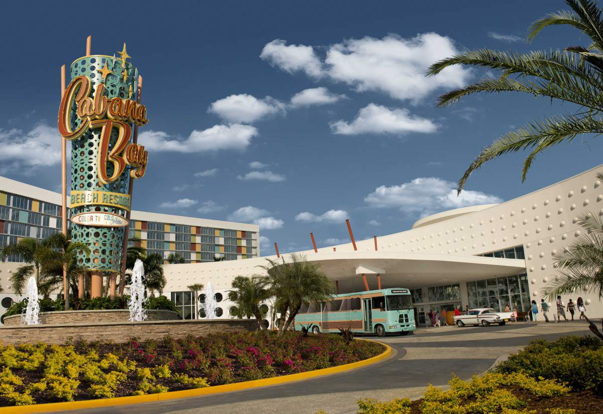 Cabana Bay Beach Resort Exterior Retro-Kids Are A Trip