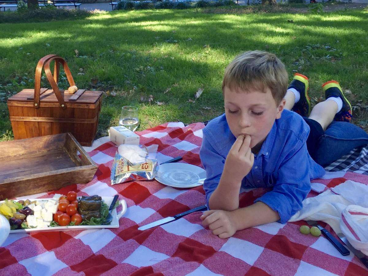How to Save Money on New York City Travel Consider a Picnic in the Park-Kids Are A Trip