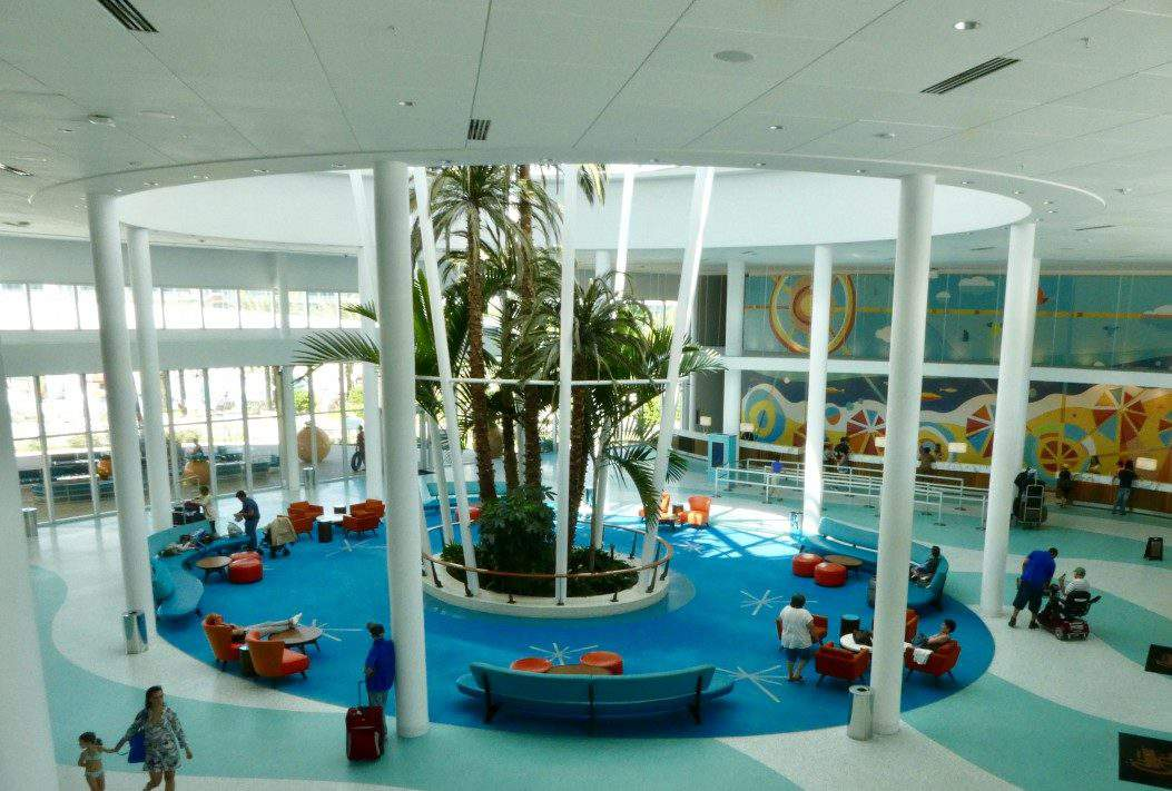 Cabana Bay Beach Resort View of Lobby-Kids Are A Trip