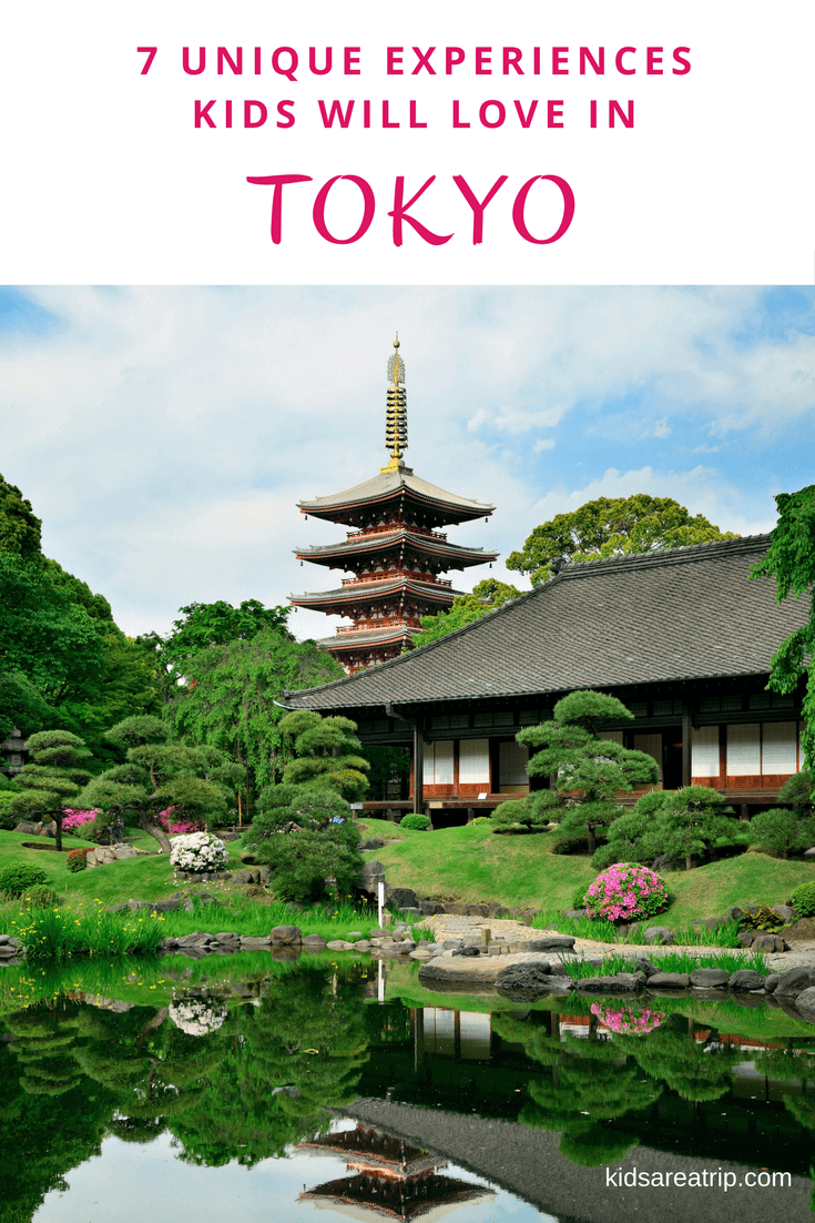 Families will be thrilled with the wealth of adventures they can enjoy in the capital city of Japan. Here are some unique experiences not to be missed when exploring Tokyo with kids. - Kids Are A Trip