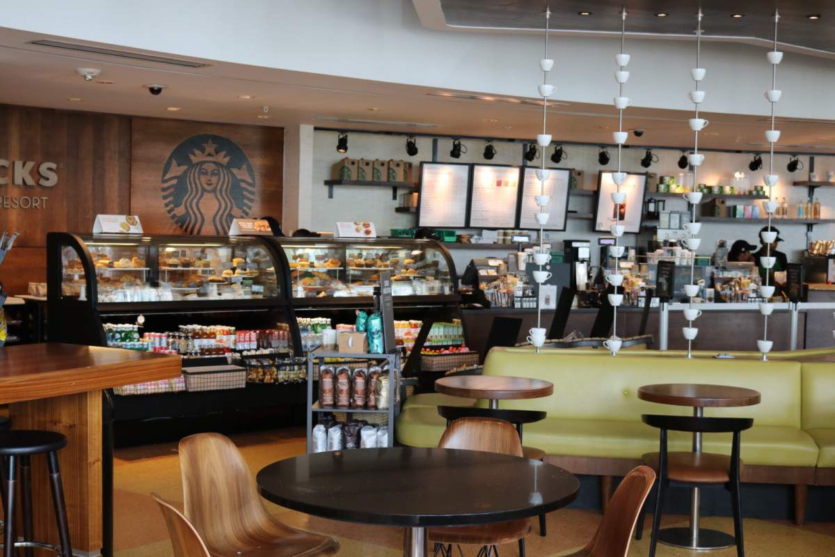 Cabana Bay Beach Resort Starbucks-Kids Are A Trip
