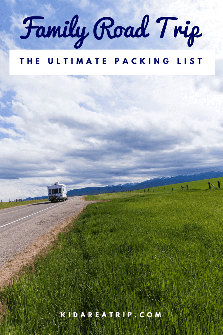 Preparing for a road trip can be exhausting. We've gone through and selected the essentials to pack for a family road trip and a printable so nothing gets left behind. - Kids Are A Trip