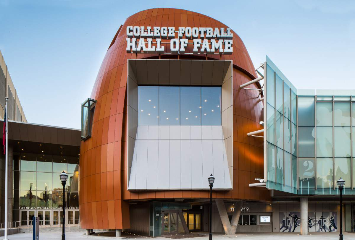 Family Friendly Things to Do in Atlanta Visit College Football Hall of Fame - Kids Are A Trip