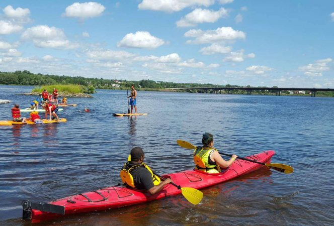 kayak Fredericton things to do-Kids Are A Trip