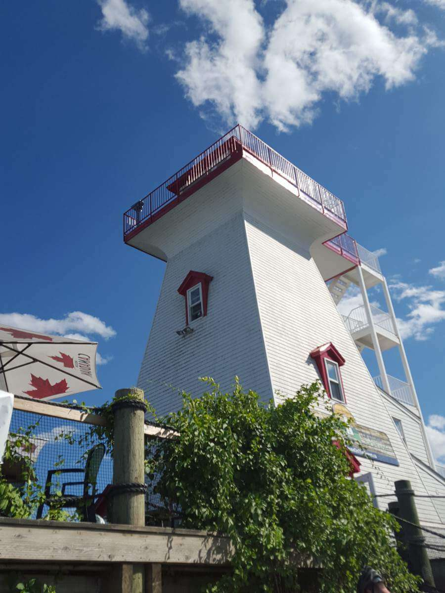 Family Friendly Things to do in Fredericton, Canada lighthouse ice cream-Kids Are A Trip